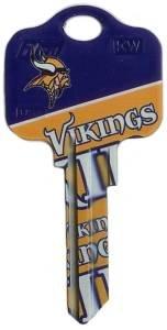 Key Blanks: Model: NFL - Minnesota Vikings Key Blanks - Schlage