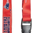 Key Accessories:Model: New England Patriots Red Lanyard