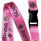 Key Accessories:Model: New Orleans Saints Pink Lanyard
