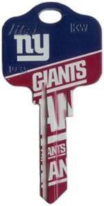 Key Blanks: Model: NFL - New York Giants Key Blanks - Kwikset