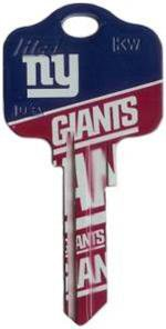 Key Blanks: Model: NFL - New York Giants Key Blanks - Schlage