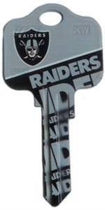 Key Blanks: Model: NFL - Oakland Raiders Key Blanks - Kwikset
