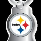 Key Chains: Model: PITTSBURGH STEELERS BOTTLE OPENER Keychain
