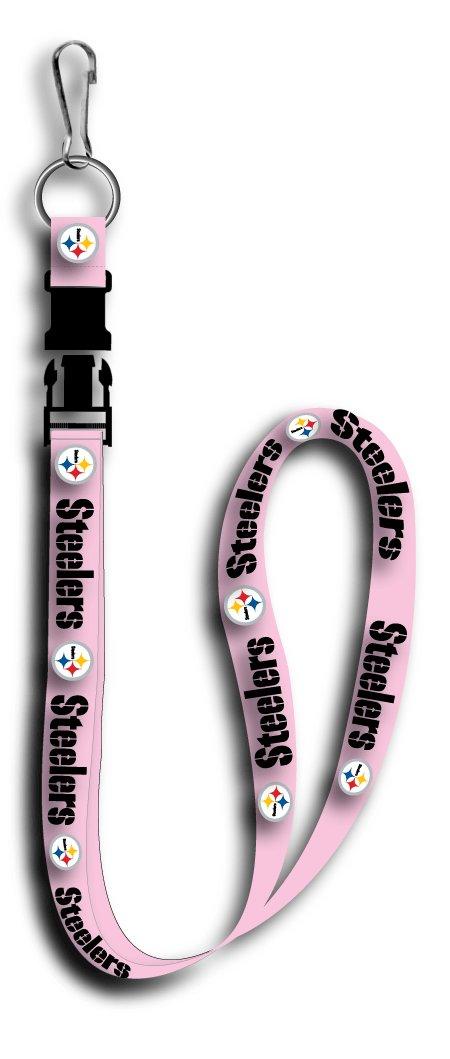 Key Accessories: Model: Pittsburgh Steelers Pink Lanyard