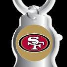 Key Chains: Model: SAN FRANCISCO 49ERS BOTTLE OPENER Keychain