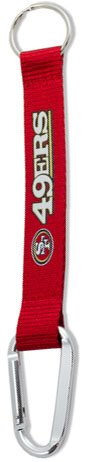 Key Accessories: Model: NFL - SAN FRANCISCO 49ERS CARABINER LANYARD
