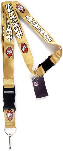 Key Accessories: Model: San Francisco 49ers Gold Lanyard