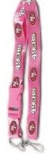 Key Accessories: Model: San Francisco 49ers Pink Lanyard