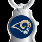 Key Chains: Model: St. Louis Rams BOTTLE OPENER Keychain