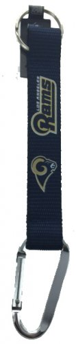 Key Accessories: Model: NFL - St. Louis Rams CARABINER LANYARD