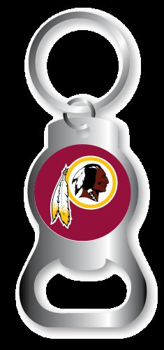 Key Chains: Model: WASHINGTON REDSKINS BOTTLE OPENER Keychain