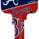 Key Blanks: Model: MLB -ATLANTA BRAVES Key Blanks - Kwikset