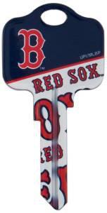 Key Blanks: Model: MLB -BOSTON RED SOX Key Blanks - Schlage