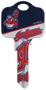 Key Blanks: Model: MLB -CLEVELAND INDIANS Key Blanks - Schlage