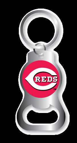 Key Chains: Model: MLB - CINCINNATI REDS BOTTLE OPENER Keychain