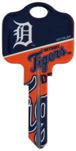 Key Blanks: Model: MLB -DETROIT TIGERS Key Blanks - Kwikset