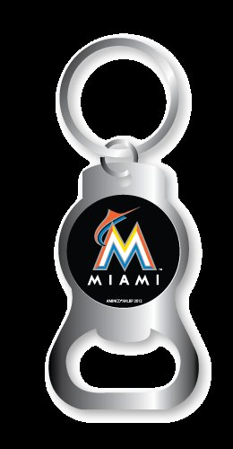 Key Chains: Model: MLB - MIAMI MARLINS BOTTLE OPENER Keychain