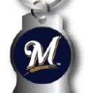 Key Chains: Model: MLB - MILWAUKEE BREWERS BOTTLE OPENER Keychain
