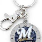 Key Chains:Model: MLB -  MILWAUKEE BREWERS Key Chain