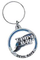 Key Chains: Model: MLB - TAMPA BAY RAYS Key Chain
