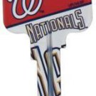 Key Blanks: Model: MLB -WASHINGTON NATIONALS Key Blanks - Kwikset