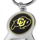 Key Chains: Model: NCAA - COLORADO BUFFALOES Bottle OPENER Keychain