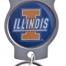 Key Chains: Model: NCAA - ILLINOIS FIGHTING ILLINI Bottle OPENER Keychain