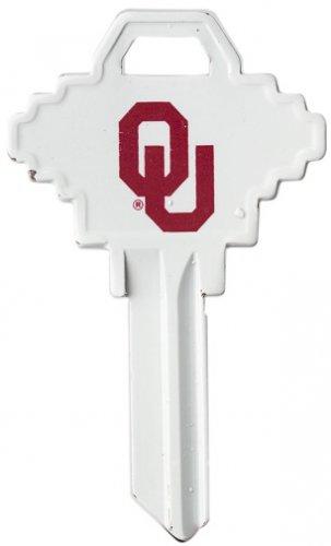 "Key Blanks: Model: NCAA - OKLAHOMA SOONERS "" Large "" Key Blanks - Schlage"