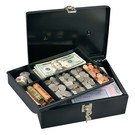 Safes: Master Lock Model No. 7113D  Keyed Locking Cash Box with 7 Compartment Tray