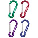 Key Chains: Model No. 603D Metal Non-Locking Carabiner
