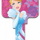 Key Blanks: Key Blank D107- Disney's Cinderella- Weiser