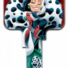 Key Blanks: Key Blank D98 - Disney's Cruella De Vil - Weiser