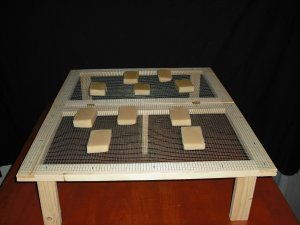 WOODEN SOAP LOAF BAR DRYING RACK COLLAPSABLE STACKABLE