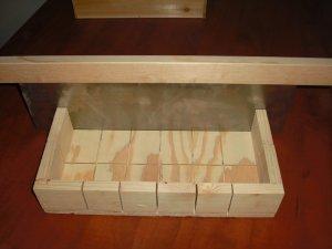 WOODEN SOAP MOLD LOAF / CUTTER SLICER MAKES 18 BARS