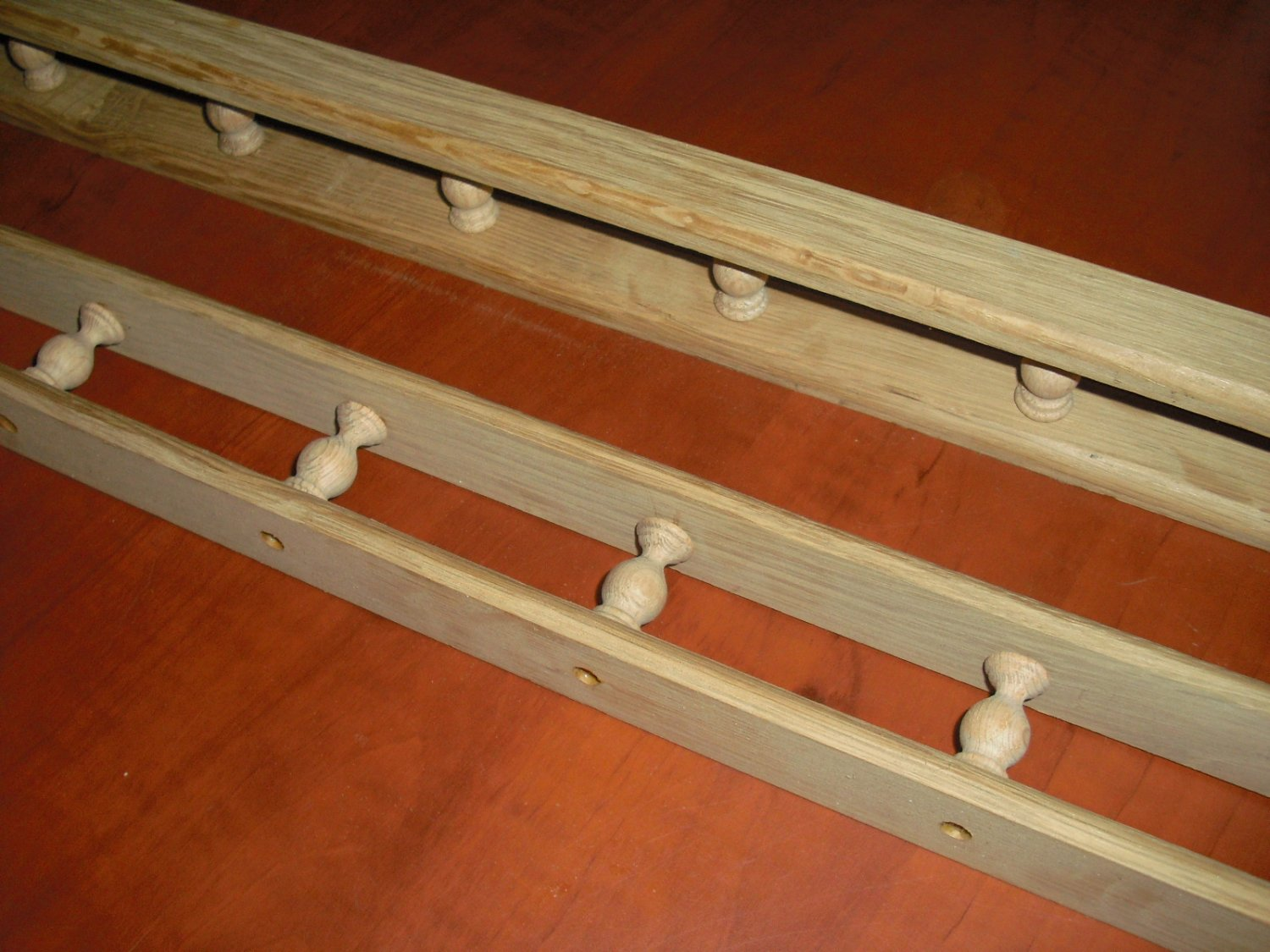 OAK GALLEY RAIL 3 FT