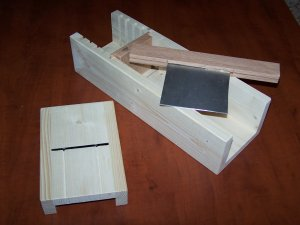 WOOD WOODEN SOAP MOLD CUTTER / SLICER BEVELER PLANER