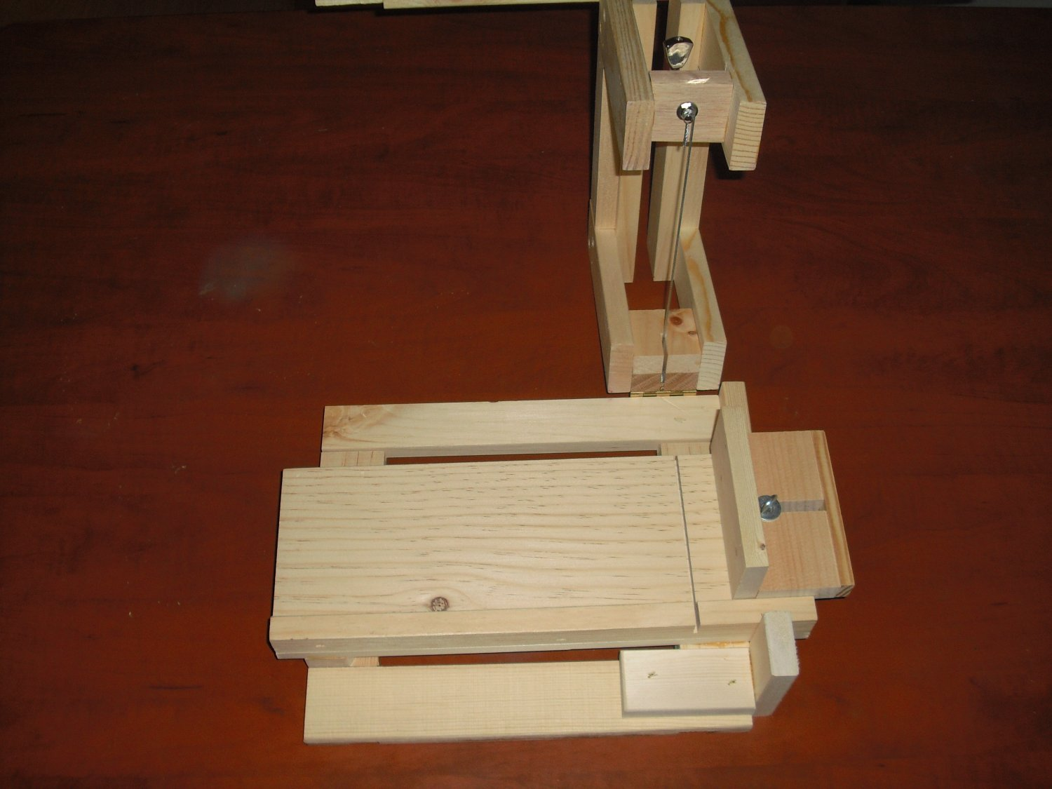 WOODEN SOAP MOLD / LOAF WIRE CUTTER