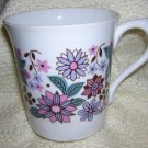Rosina vintage bone china mug retro design hc1137