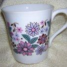 Rosina vintage bone china mug retro design hc1137
