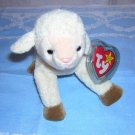 Ewey retired Ty beanie baby lamb mint with tags hc1268