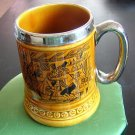 Lord Nelson Ware Pottery vintage mug stein tankard handmade Staffordshire England vintage hc1322