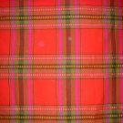 Striped checked tablecloth Seahorse Stork Holland vintage linens hc1425