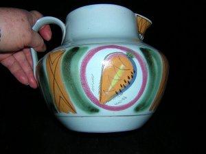 Buchan Pottery Riviera  large stoneware pitcher handmade hc1468