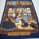 Vista all cotton vintage towel Victorian England Fish n Chips hc1589