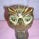 Villanueva Mexico signed ceramic owl A wise gift for a graduate hc1600