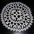 Tatted circular doily small size perfect vintage hc1677
