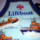 Life boat laminated cotton apron for child or small adult UK hc1698