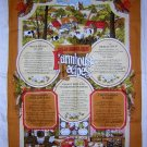 Old English Farmhouse Recipes towel Vista unused hc1706