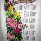 1994 calendar towel The People&#39;s Friend 125th anniversary hc1834