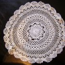 Ultra fine thread crocheted doily antique hc1848